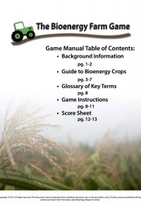 Game manual cover photo