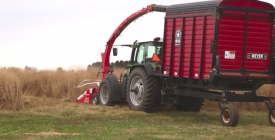 Switchgrass Biomass Harvest