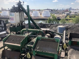 Green Asphalt plant in NYC
