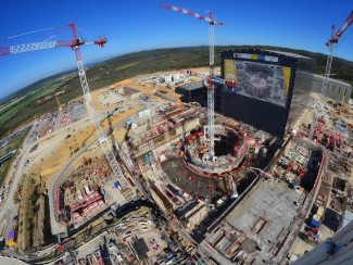 Construction at ITER