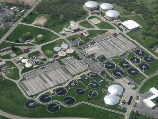 Wastewater treatment plant in Madison, Wis.
