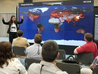 Tracey Holloway presents satellite data