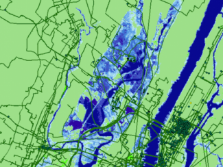 Seawater inundation NYC